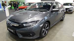 2018 honda civic sedan exterior and interior automobile