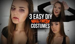 3 easy diy halloween costumes cat vampire u0026 tris prior