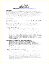 Sample Resume For Customer Service Representative Telecommunications by Service Management Resume Sample Free Resume Example And Writing