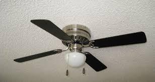 Wall Hugger Ceiling Fans 42 Inch Brushed Nickel Hugger Ceiling Fan With Mushroom Globe