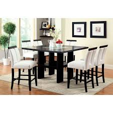 Counter Height Dining Room Tables by Steve Silver Delano 7 Piece Counter Height Dining Set Espresso