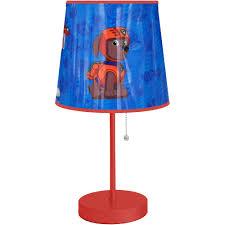 Cheap Fleur De Lis Home Decor Nickelodeon Paw Patrol Table Lamp Walmart Com