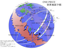 Diagram Of The World Map by The World Map Of One Piece Myanimelist Net