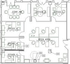 law office floor plan samples
