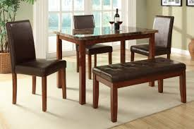 dining table bench seat lakecountrykeys com modern is a bench dining set for a smaller space the small rectangle table