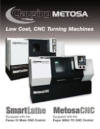 clausing metosa cnc 600 group pdf catalogue technical