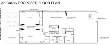 proposed gallery renovation redlands art association