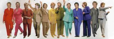 "Hillary Clinton Comes Under Fire for ""Manly"" Pantsuits But Are Women Power-Brokers Viewed in Terms of their Wardrobe & Not their Abilities?"