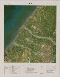 China Topographic Map by National Land Surveying And Mapping Center Republic Of China Taiwan