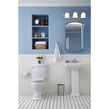 shop kohler archer 20 in x 31 in aluminum metal surface mount and