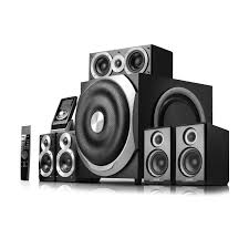blu ray home theater system with wireless rear speakers edifier s760d ground shaking 5 1 home theater system with dolby