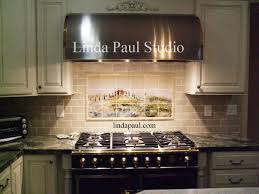 Kitchen Backsplash Tile Designs Pictures Tuscan Tile Murals Kitchen Backsplashes Tuscany Art Tiles