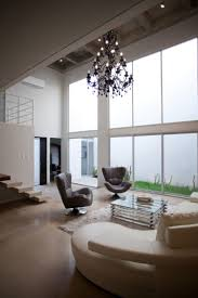 interior handsome white bedroom decoration using led high ceiling