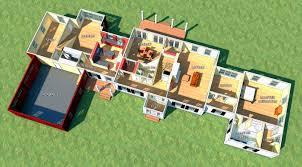 architecture modern house plan garage imanada architectural