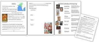 Cuneiform Activity Worksheet History India Unit Homeschool Den