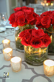 Black Centerpiece Vases by Best 25 Red Rose Centerpieces Ideas On Pinterest Red Wedding