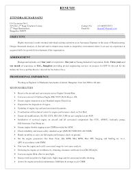 Maintenance Technician Resume Sample by Excellent Aircraft Technician Resume Samples For Employment