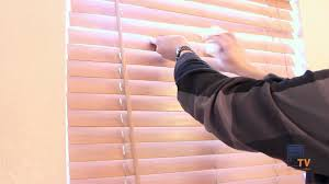 how to clean wood blinds youtube