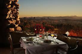 top 10 romantic restaurants in asheville the sunset terrace at grove park inn