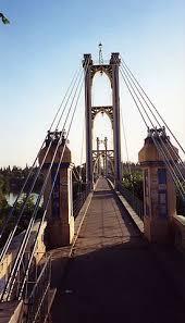 Deir ez-Zor suspension bridge