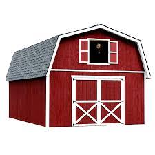 shop best barns roanoke without floor gambrel engineered wood