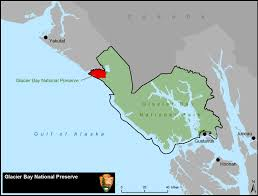 Juneau Alaska Map by Glacier Bay National Preserve Glacier Bay National Park
