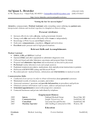 Phlebotomist Resume Sample No Experience by Medical Assistant Resume Skills Free Hair Product Pinterest