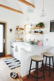 Ideas For A Small Kitchen Space by Best 25 Small Kitchen Bar Ideas On Pinterest Small Kitchen