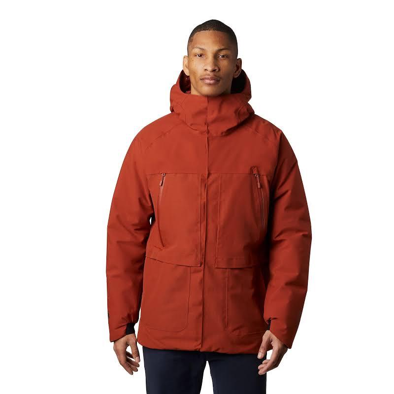 Mountain Hardwear Summit Shadow Gore-Tex Down Jacket Rusted Large 1851511801-L