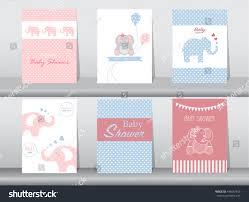 set baby shower invitation cardspostertemplategreeting