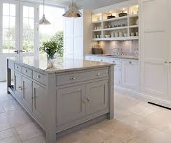 Gray Color Schemes For Kitchens by 25 Best Grey Shaker Kitchen Ideas On Pinterest Warm Grey