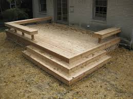 Basic Wood Bench Plans by Best 25 Small Deck Designs Ideas On Pinterest Small Decks