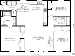 1 Bedroom Modular Homes Floor Plans by Home Oxford 92581k Kingsley Modular Floor Plan Fairmont Homes