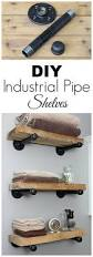 Home Decor Stores Grand Rapids Mi Diy Industrial Pipe Shelves Super Easy Pipes And Industrial