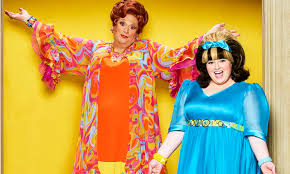 Hairspray Live  Cast Photos on Set   Today     s News  Our Take     TV Guide Harvey Fierstein and Maddie Baillio   lt em gt Hairspray