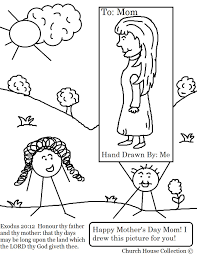 mother u0027s day coloring pages