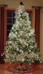 snowman christmas tree ideas christmas lights decoration