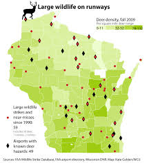 Wisconsin Map With Counties by Deer Coyotes And Turkeys Oh My Wisconsinwatch Org