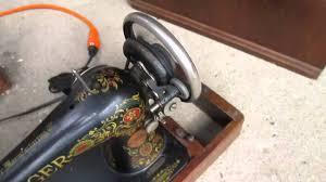 vintage singer sewing machine ebay youtube
