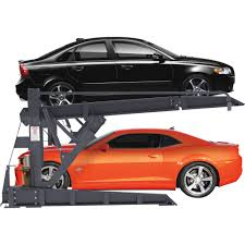 free shipping u2014 bendpak 2 post tilt platform car stacker parking