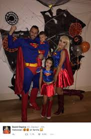 Family Of 3 Halloween Costume by The World Of Football Celebrates Halloween