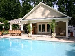 Cabana House Plans by Pool House Plans With Bedroom