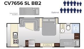 Caravan Floor Plan Layouts Topaz Caravan