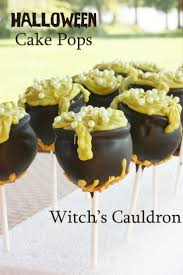 witch u0027s cauldron halloween cake pops recipe