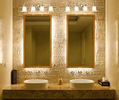 curved corner wall mount medium mirror bathroom mirrors and