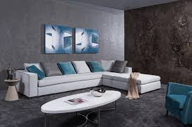 sofa modern sectional sofas miami interior design for home