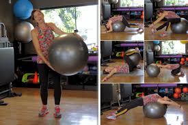 Exercícios com bola para aliviar dor nas costas - Lar Natural