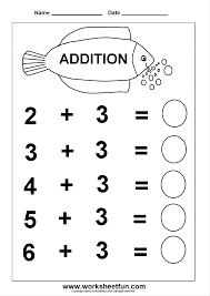 Decimal Addition Worksheets Addition U2013 Basic Addition Facts Free Printable Worksheets