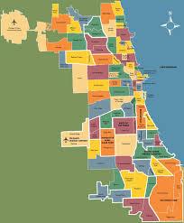 Map Of Boston Neighborhoods by Chicago Neighborhood Map Map Of Neighborhoods In Chicago United