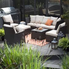 Outdoor Living Furniture by Belham Living Marcella All Weather Outdoor Wicker 6 Piece